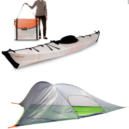 Oru Kayak and Tentsile Stingray Combo Deal
